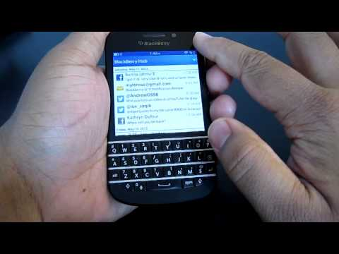 Blackberry Q10/Z10/Q5 Hub trick (refreshing/reset the hub)