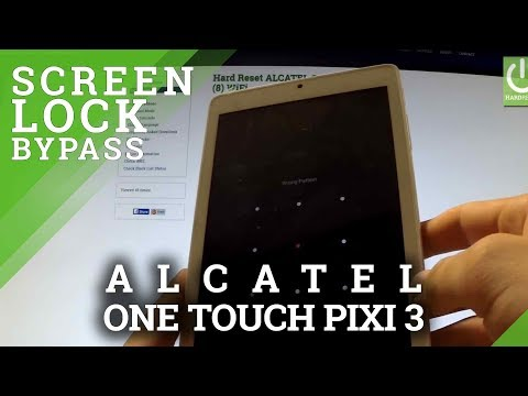 Hard Reset ALCATEL One Touch Pixi 3 - REMOVE PATTERN and PASSWORD