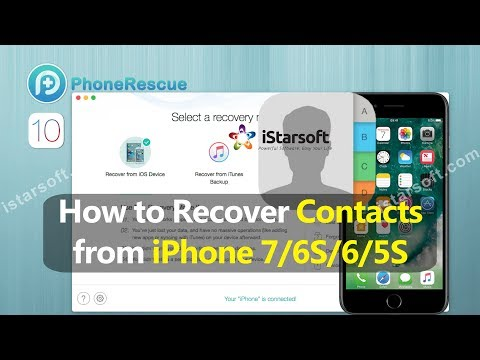 How to Recover Contacts from iPhone 7/6S/6/5S with iOS 10