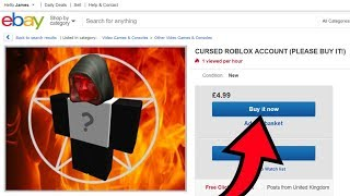 I GOT A CREEPY Roblox ACCOUNT ON eBay FOR $6!!! *AT 3AM*