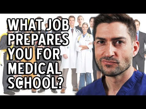 Best Job to Prepare You for a Med School...