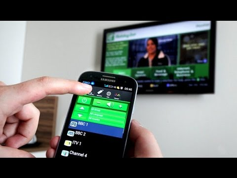 How to Use Your Samsung Galaxy Phone as a TV Remote