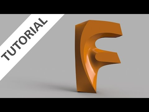 How to Sculpt the New Fusion 360 Logo