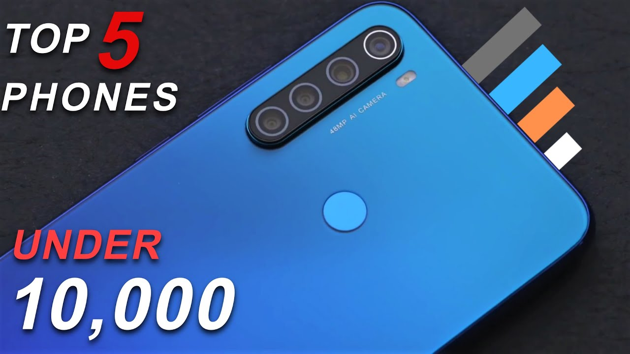 Best Smartphone Under 10000 in January 2020   Top 5 Phones under 10000   Best Phone Under 10000
