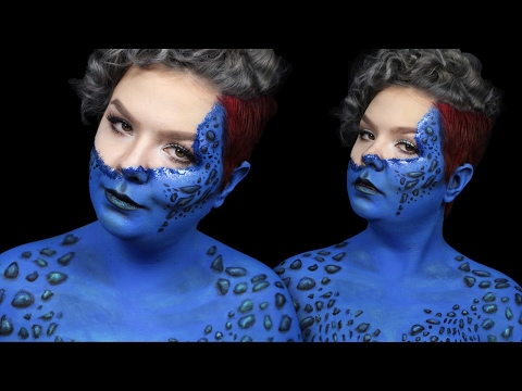 Mystique Make-Up Tutorial | ItsGottaBeSarahC