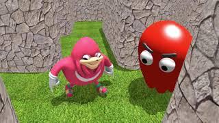 Pacman vs Uganda Knuckles 3D