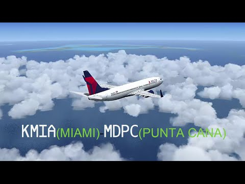 KMIA MDPC MIAMI PUNTA CANA Delta