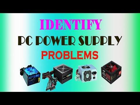 Computer Hardware Maintenance-Bad power supply symptoms