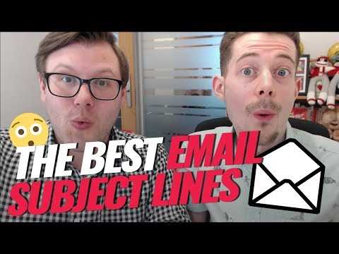 Best Email Subject Lines | Double Your Open Rates 🤓