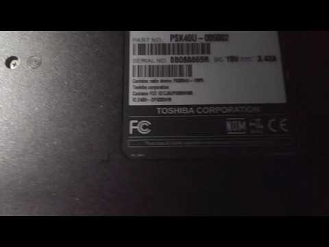 Toshiba satellite l775d-s7206 Bios reset