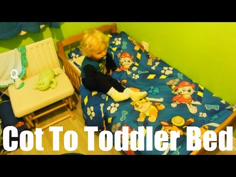 Moving Two Year Old From Cot To Toddler Bed