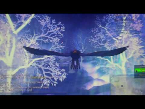 World of Warcraft- Druid swift flight form.