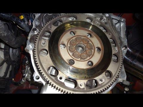 K Series Transmission Rebuild Part 3: Installing Flywheel, Clutch Disk, Pressure Plate