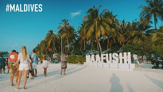 MALDIVES 🇲🇻 ON LOW BUDGET - Maafushi Trip Day 1