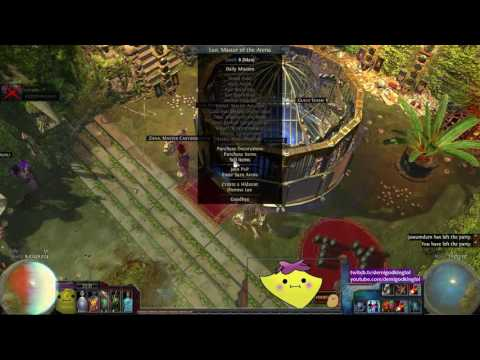 Vendor Recipes! - SECRET Exalted Orb Recipe! - Demi 'Splains