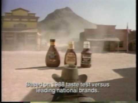 Bull's Eye BBQ Sauce 1993 Classic Commercial