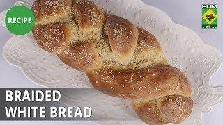 Braided White Bread Recipe | Dawat | Abida Baloch | Bakery Item