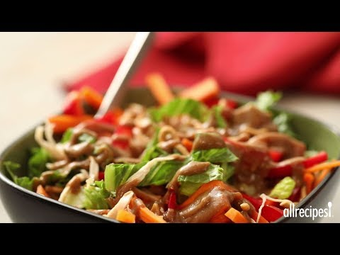 How to Make Asian Chicken Salad in a Jar | Chicken Recipes | Allrecipes.com