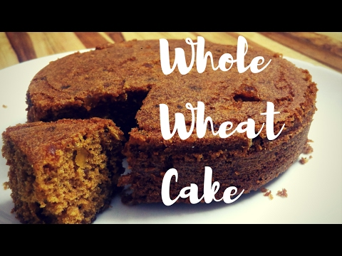 Wheat Cake Recipe|Plum Cake Recipe|Cake Recipe with Egg in Microwave Oven
