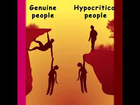 Genuine people Vs Hypocritical people (Difference everyone must know)