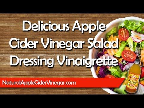 How to Make Delicious & Healthy Apple Cider Vinegar Salad Dressing Vinaigrette