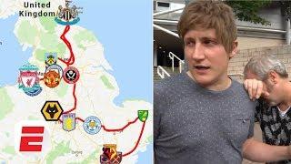 FAILED! Visiting every Premier League stadium in 24 hours challenge   Premier League