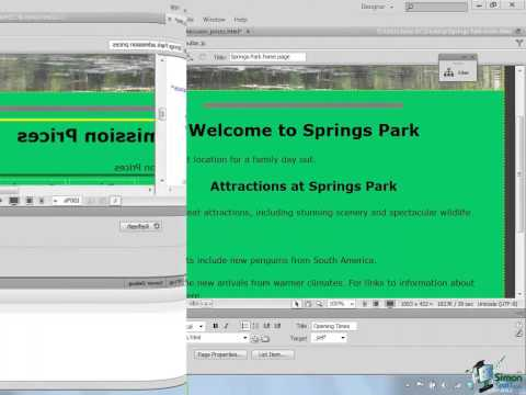 Dreamweaver CS6 Tutorial - Part 42 - Check Links, Validate Pages, Run Reports, & Cleaning Up XHTML