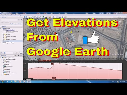 Surface Profile from Google Earth - Google Earth Topography Profiles - Google Earth for surface