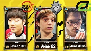 League of Legends Roster Changes   Every Move So Far (NA & EU)