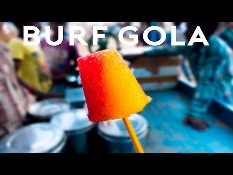 Burf Gola | Baraf Gola | Chooski | Ice Goola | Indian Slush | Popsicles