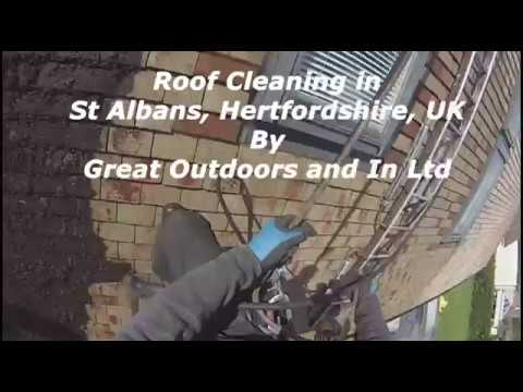 Roof Cleaning in St Albans, Hertfordshire, UK - Great Outdoors and In Ltd