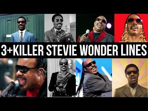 3 + Killer Stevie Wonder Lines tutorial
