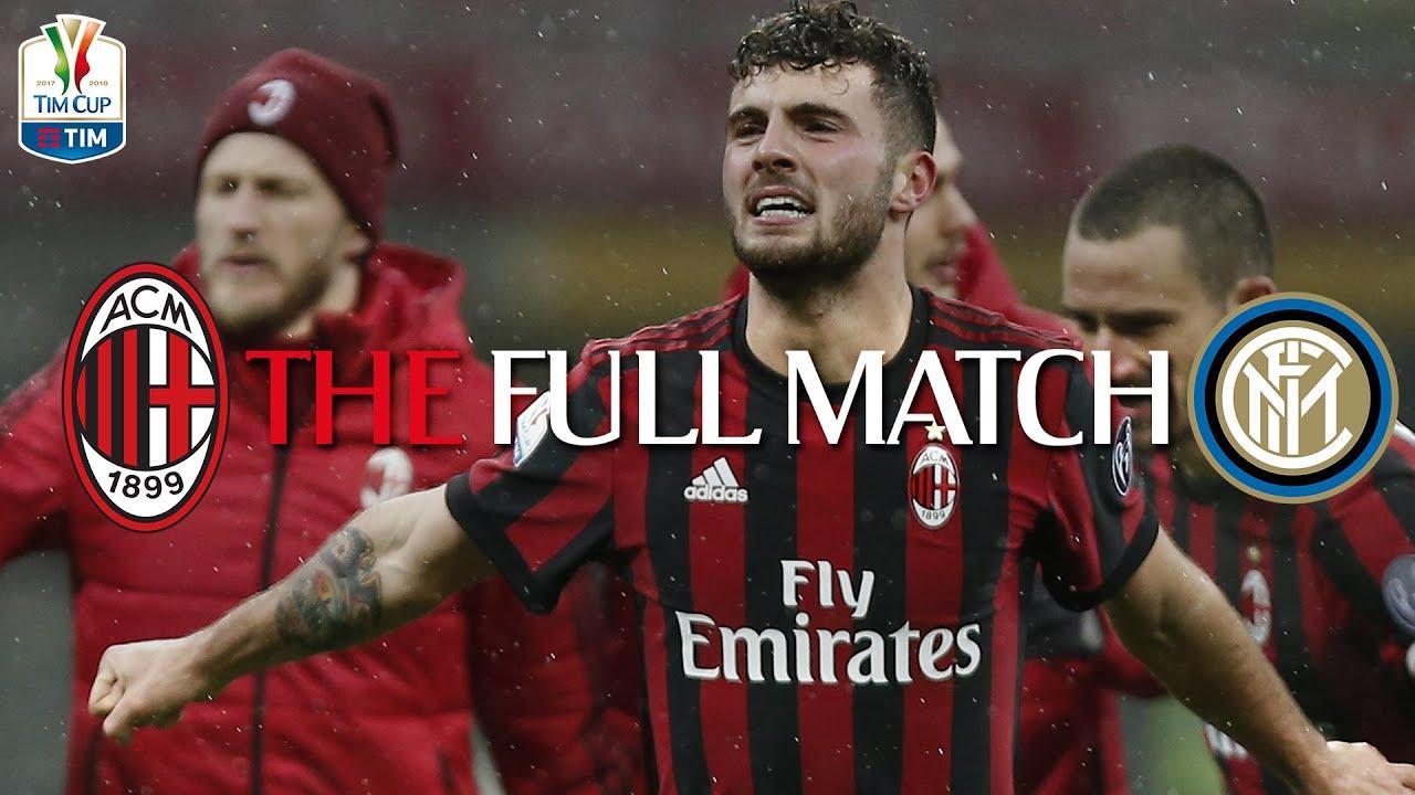 THE FULL MATCH | AC Milan 1-0 Inter | Coppa Italia TIM 2017/18