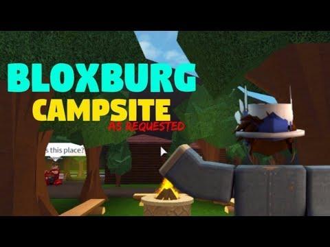 BLOXBURG || CAMPSITE || SPEEDBUILD