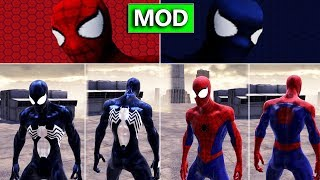 Spider-man PS1 Costumes on Web of Shadows (Spider-man Web of Shadows Mod)