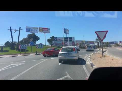 La Mata (Torrevieja) to La Zenia Boulevard along the N332