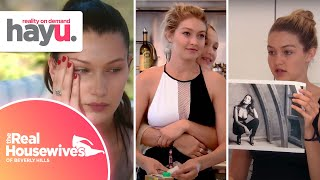 Gigi, Bella & Anwar Hadid When They Were Young | Real Housewives of Beverly Hills