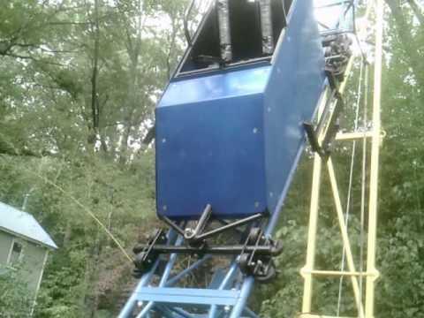 Backyard Roller Coaster Features & Ride!