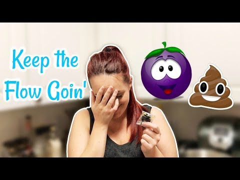 GOTTA KEEP THE FLOW GOIN' - Pregnancy Constipation | The Dibs Life