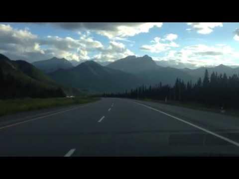 Drive to British Columbia in canada