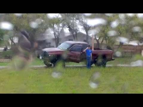 Soldier Pulls Off Road To Salute Fallen Vet's Funeral Procession In Pouring Rain