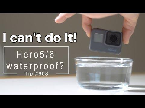 GoPro Hero5 / Hero6 Really 100% waterproof?! GoPro Tip #608