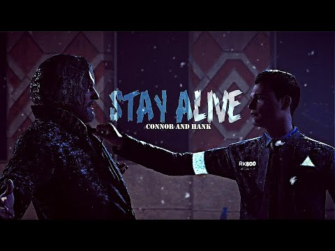 Connor and Hank - Stay Alive「GMV」