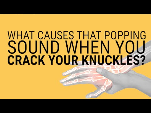 What happens to your joints when you crack your knuckles