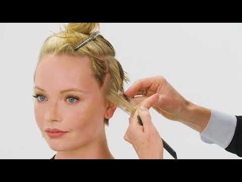 JOICO Blonde Pixie Cut and Color Tutorial