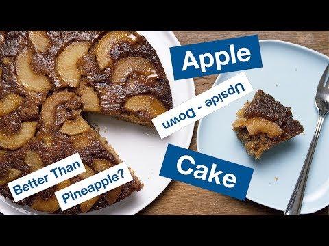 Tasty Apple Upside Down Cake     Le Gourmet TV Recipes