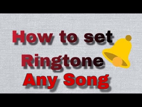 How to set a Ringtone on any Android phones its helpful.