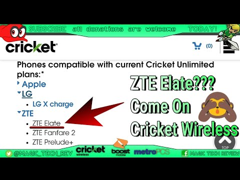 Cricket Wireless HotSpot Feature Is A Joke 4 Androids? ZTE Elate? You Had One Job! *Huawei Elate