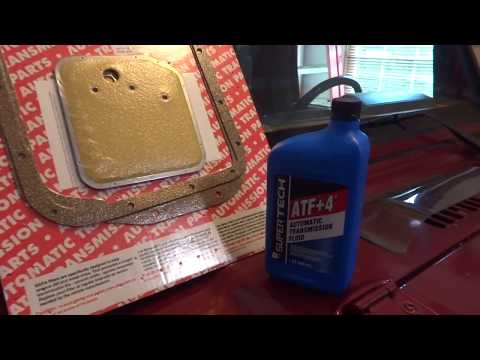 Jeep Wrangler 32RH Fluid and Filter Change