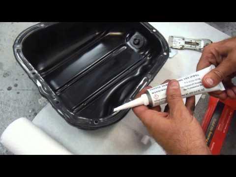1995 Lexus ES 300 /Toyota Camry How to Reseal Leaking Oil Pan Gasket using FIPG Sealant